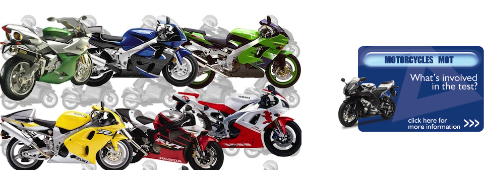 Motorcycle MOT and Servicing
